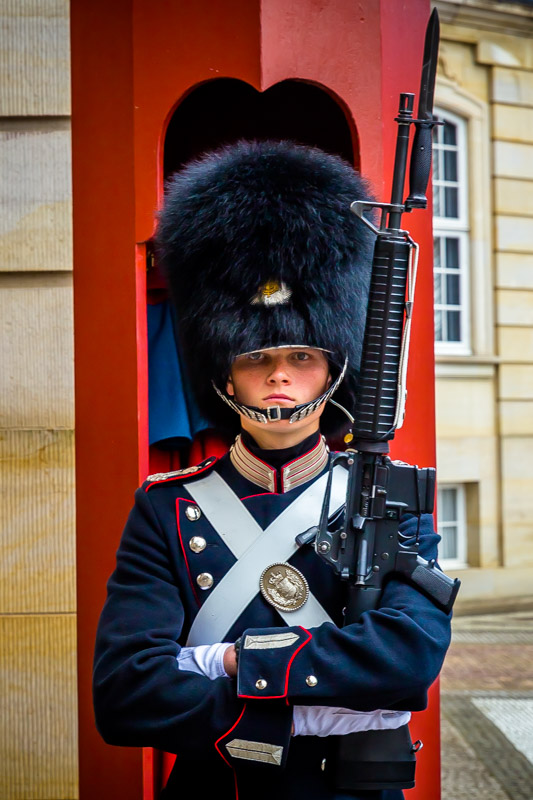 Stark Collection | Guard at the Amalienborg Palace