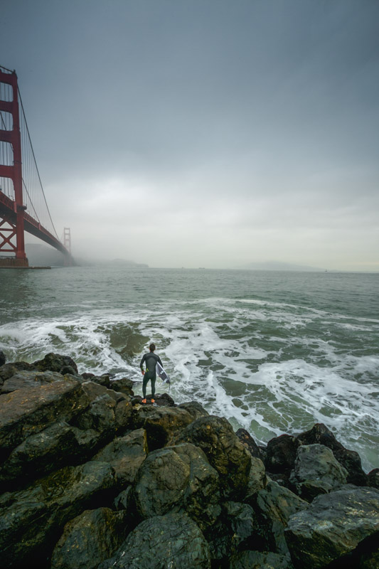 Stark Collection | Surfing the Golden Gate